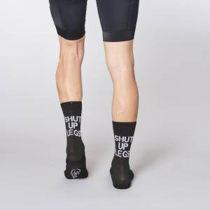Fingerscrossed Design Socks Shut Up Legs sockdoping